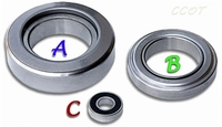 "Pilot Bearing - Clutch- 3 or 4-Speed- 1958-8/87 -  ""C"" - TOYOTA"