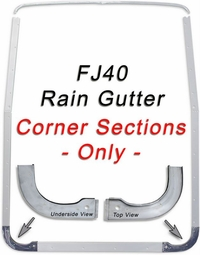 Rain Gutter Corner Channel - '67 to '84