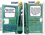 Rear Door(s) W/S  Installation Instructions