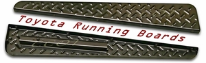Running Board  -72-78 - Black Powder Coated - Toyota Part