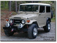 Scott Provance's '76 FJ40