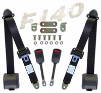 Seat Belts - 9/72-84 - FJ40 - Pair - Shoulder Harnesses - Aft Mrkt