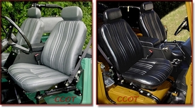 Seat Covers -  Front Pair -  FJ40 - Oscar -  FREE Hog Rings