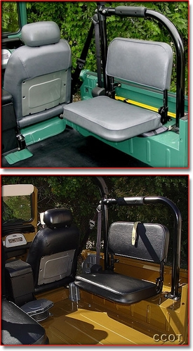 Seat Covers, Jump Seat Set, Both Rears, FJ40