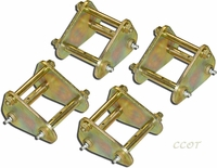 Shackle - Tri - Kit  - 4ea - Greasable - 58-7/80 - Series 40/45