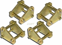 Shackle - Tri - Kit - 4ea - Greasable - 8/80-1/90 - Series 40/43/45/60/62/75
