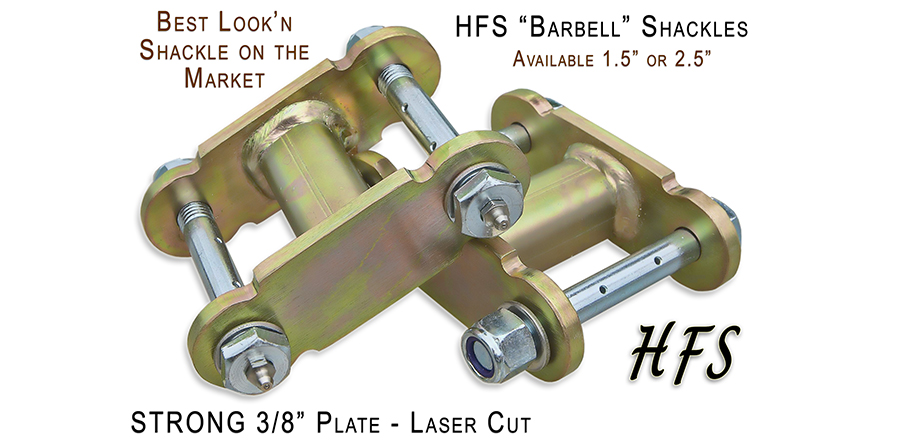 Shackles - HFS?- Barbell Lift