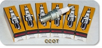 Spark Plugs ~ DENSO ~  1968 to 08/'87 ~ Set of 6