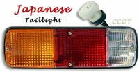 Taillight -  FJ40 - Drivers - Japan -  9/73-1/79 - w/Butt Splicers - Aft Mrkt