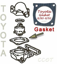 Thermostat Gasket - Lower -  8/80-8/92 -  TOYOTA