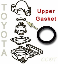 Thermostat Gasket - Upper -  58-8/92 -  TOYOTA