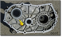 Tranny Fluid Flow Hole to Tap & Plug