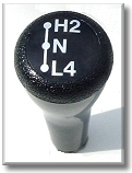 Transfer Case Magnet Shift Knob -  9/72-9/77 - TOYOTA