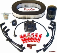 Tune Up Kit - 8/80 to 8/87 - All TOYOTA