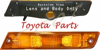 Turn Signal ~ Amber Lens & Body ~ FJ62 Front Driver's ~ TOYOTA