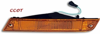 Turn Signal Assembly ~ Amber Lamp ~ FJ62 Front Driver's ~ TOYOTA