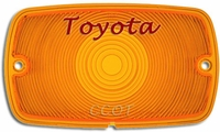 Turn Signal Lens - Front - 1ea -  69-74 - TOYOTA