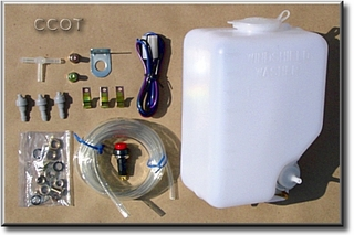 Washer Bottle - Tank & Motor