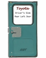 "Weatherstrip - Driver's Rear Ambulance Door - 75-12/'78 -  ""TOYOTA"""
