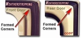 "Weatherstripping - ALL 4-Doors - 75-84 - ""CCOT"""