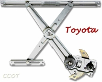 Window Regulator - Driver's Side Rear- 8/80-1/90 - No Returns -  TOYOTA