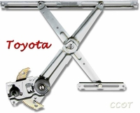 Window Regulator - Passngr Side Front- 8/80-1/90 -  No Returns - TOYOTA