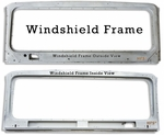 Windshield Frame - HFS?- Fits 1/'75 to 9/'77