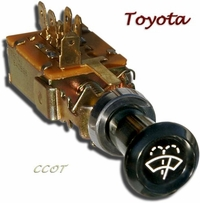 Wiper Switch - 1968 to 9/72 - TOYOTA - No Return