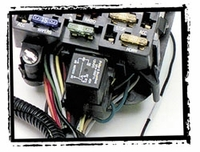 WIRING PRE-TERMINATED TO FUSE BLOCK