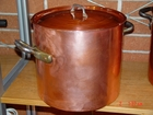 """SOLD OUT   Smooth finish 15 quart stock pot 28cm X 26cm high or 11""""X10.25 High"""