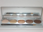 Eyeshadow kit Browns/Yellows