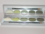 Eyeshadow kit greens
