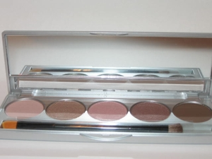 Mineral Eye Shadows Browns and Pinks