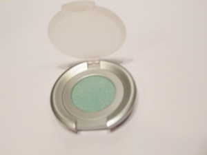 Jasper Light Teal Eyeshadow with Silver Shimmer