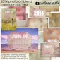 2014 4x6 Calendar - Photo Art Blends