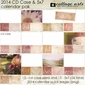 2014 Calendars - CD Case & 5x7 Quick Page Set