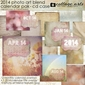 2014 CD Case Calendar - Photo Art Blends