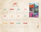 2015 Year on a Page Calendars (8.5x11 & 9x13)