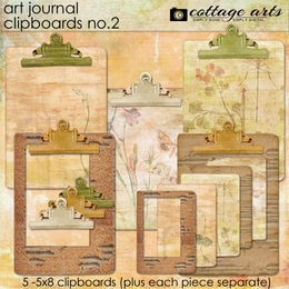 Art Journal Clipboards 2