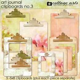 Art Journal Clipboards 3