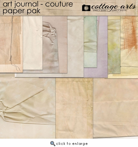 Art Journal - Couture Paper Pak