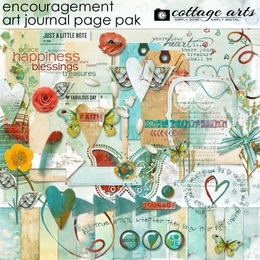 Art Journal - Encouragement Page Pak
