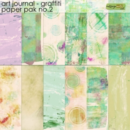 Art Journal - Graffiti 2 Paper Pak