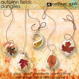 Autumn Fields Danglies