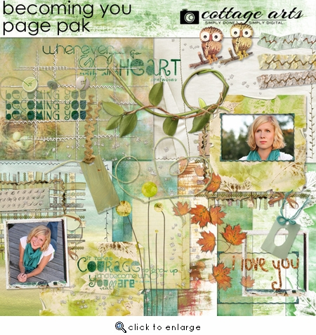 Becoming You Page Pak