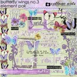 Butterfly Wings 3 Element Pak