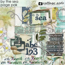 By the Sea Page Pak w/Alpha