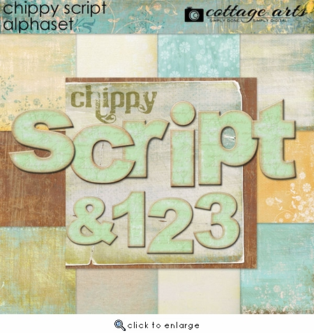 Chippy Script AlphaSet