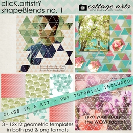 CLASS-IN-A-KIT: Click.Artistry ShapeBlends 1