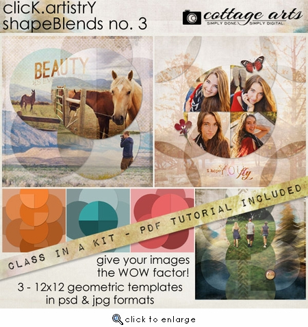 CLASS-IN-A-KIT: Click.Artistry ShapeBlends 3